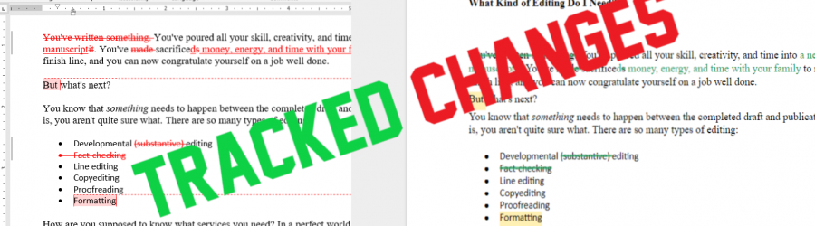 Tracked Changes: Resolving Edits in Word